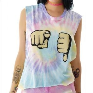 UNIF U SUCK MUSCLE T-SHIRT MEDIUM